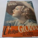 Cine: PROGRAMA DOBLE - LA DIVINA GLORIA - MARION DAVIES - 1935 - SIN PUBLICIDAD.. Lote 153858742