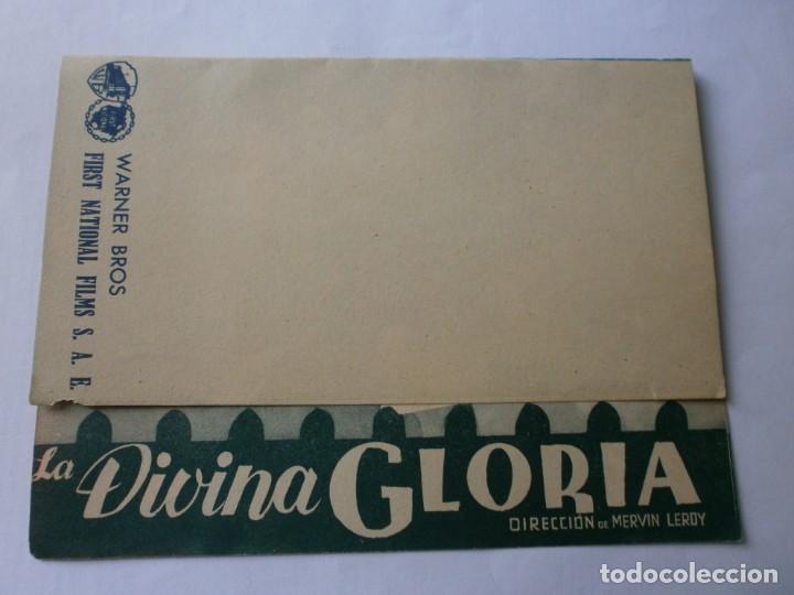 Cine: PROGRAMA DOBLE - LA DIVINA GLORIA - MARION DAVIES - 1935 - SIN PUBLICIDAD. - Foto 3 - 153858742
