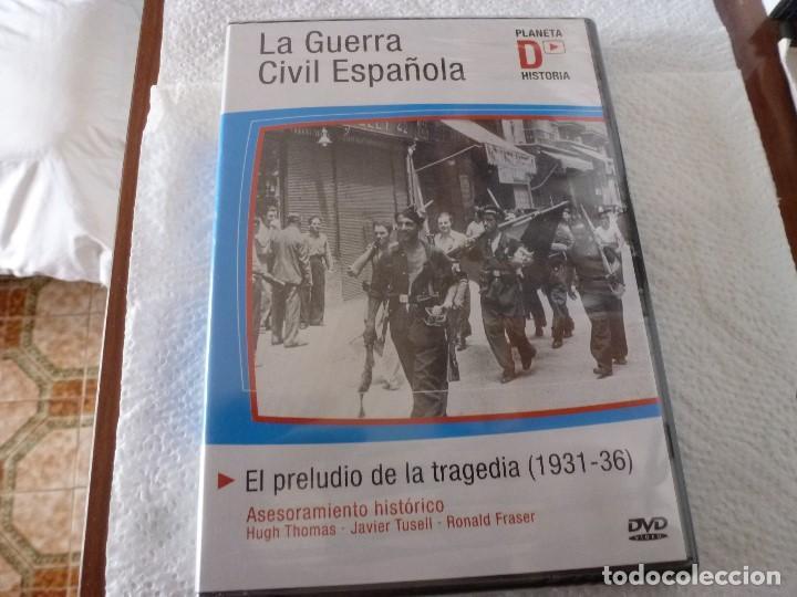 DVD DOCUMENTAL- EL PRELUDIO DE LA TRAGEDIA(1931-1936)PRECINTADA-LA GUERRA CIVIL ESPAÑOLA (Cine - Folletos de Mano - Documentales)
