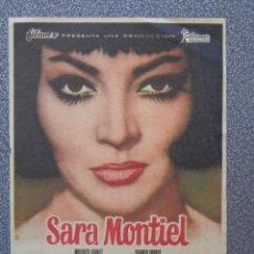 Folhetos de mão de filmes antigos de cinema: PROGRAMA DE CINE: NOCHES DE CASABLANCA - BARBASTRO HUESCA. Lote 154062758