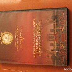 Cine: HISTORIA DE LOS SILLONES DE LA REAL ACADEMIA NACIONAL DE MEDICINA. Lote 154440190
