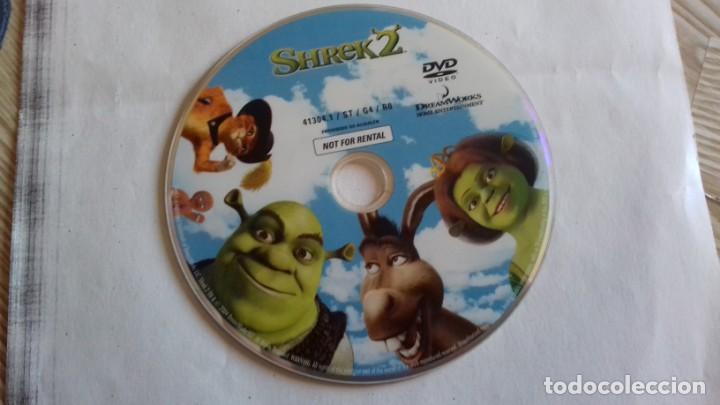 DVD PELICULA SHREK 2 (Cine - Folletos de Mano - Infantil)