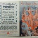 Cine: PROGRAMA DE CINE DOBLE LA VIUDA SOLTERA 1936 PUBLICIDAD TEATRO CIRCO . Lote 154687390