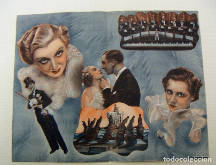 Cine: PROGRAMA DE CINE DOBLE LA VIUDA SOLTERA 1936 PUBLICIDAD TEATRO CIRCO - Foto 2 - 154687390