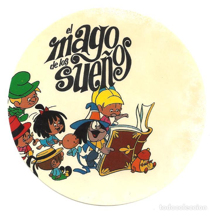 PTCC 036 EL MAGO DE LOS SUEÑOS PROGRAMA TROQUELADO ADHESIVO FAMILIA TELERIN ANIMACION (Cine - Folletos de Mano - Infantil)