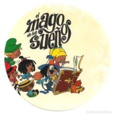 Cine: PTCC 036 EL MAGO DE LOS SUEÑOS PROGRAMA TROQUELADO ADHESIVO FAMILIA TELERIN ANIMACION. Lote 154768778