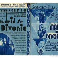Cine: MADRID SE DIVORCIA, CON ROSITA LACASA. C/I.. Lote 154797562