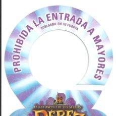 Cine: EL RATONCITO DE TUS SUEÑOS PEREZ 2 PROGRAMA TROQUELADO FILMAX. Lote 154808010