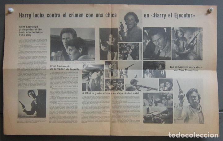 Cine: HARRY EL EJECUTOR PROGRAMA PERIODICO GRANDE WARNER CLINT EASTWOOD - Foto 2 - 154835998