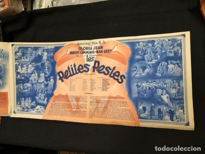 Cine: LES PETITES PESTES - GLORIA JEAN - ROBERT CUMMINGS - UNIVERSAL - - Foto 5 - 154922418