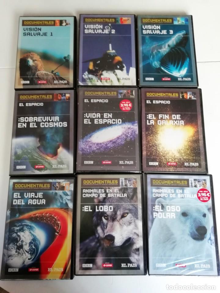 DOCUMENTALES SUPERPRODUCCIONES DE CIENCIA Y NATURALEZA (AÑO 2004) (Cine - Folletos de Mano - Documentales)