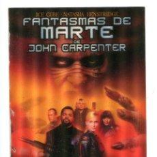 Folhetos de mão de filmes antigos de cinema: FANTASMAS DE MARTE, CON ICE CUBE. DE VIDEO EN HOLOGRAMA. 13 X 18 CMS... Lote 155127366