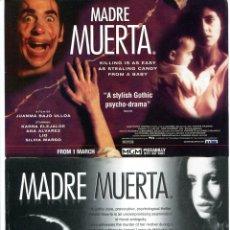 Cine: MADRE MUERTA, CON ANA ÁLVAREZ. 21 X 15 CMS... Lote 155318102