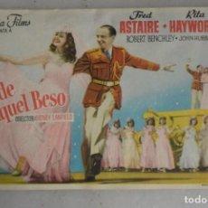 Cinema - PROGRAMA FOLLETO CINE . SIN PUBLICIDAD DESDE AQUEL BESO. COLUMBIA - 155353398