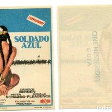 Cine: SOLDADO AZUL, CON CANDICE BERGEN. S/I.. Lote 237164260