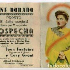 Cine: SOSPECHA, CON CARY GRANT. . Lote 155498898