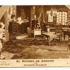 Cine: EL SUCESO DE ANOCHE, CON NICANOR VILLALTA.. Lote 155501362