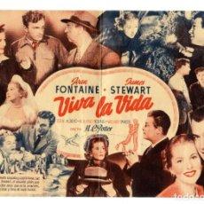 Cine: VIVA LA VIDA, CON JAMES STEWART. S/I.. Lote 155694346