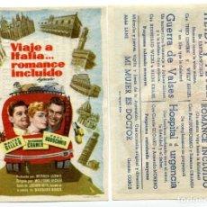 Cine: VIAJE A ITALIA...ROMANCE INCLUIDO, CON SUSANNE CRAMER. . Lote 155697782