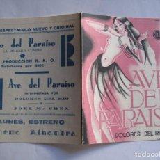 Cine: 179 ------ PROGRAMA DE MANO ORIGINAL EL DE LA FOTO. Lote 155708466