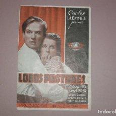 Cine: LOBOS PASTORES 1936 DOBLE UNIVERSAL SIDNEY FOX ERIC LINDEN WALTER BRENNAN EDWARD ARNOLD. Lote 155725358