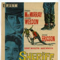 Cine: SHERIFF, HORA H, CON FRED MACMURRAY. C/I.. Lote 155856718