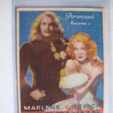 Cine: 399 ------ PROGRAMA DE MANO ORIGINAL EL DE LA FOTO. Lote 155896274