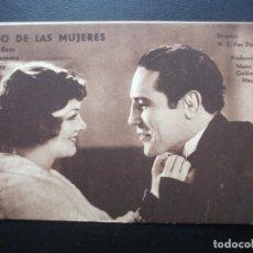 Folhetos de mão de filmes antigos de cinema: ÍDOLO DE LAS MUJERES, MYRNA LOY, MAX BAER, PRIMO CARNERA. Lote 156688550