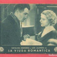 Cine: LA VIUDA ROMANTICA TARJETA FOX, CINEMA CHICLANA, VER FOTOS. Lote 156714694