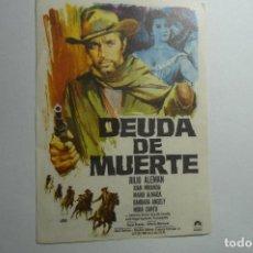 Cine: PROGRAMA DEUDA DE MUERTE - JULIO ALEMAN. Lote 156751642