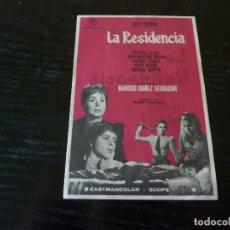 Cine: PROGRAMA DE CINE IMPRESO EN LA PARTE TRASERA. Lote 156871390
