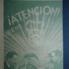 Cine: EL LOBO HUMANO AÑOS 30 HENRY HULL WARNER OLAND DOBLE UNIVERSAL TERROR IMPECABLE COMO NUEVO . Lote 156899570