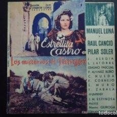Cine: LOS MISTERIOS DE TANGER 1943 CON ESTRELLITA CASTRO CON FECHA DOMINGO 14 DE MARZO DE 1943 . Lote 157020742