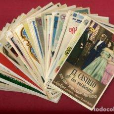 Cine: LOTE DE 120 PROGRAMAS DE CINE ANTIGUOS , SIN CINE EN EL REVERSO , VER FOTOS , ORIGINALES , L19. Lote 157023398