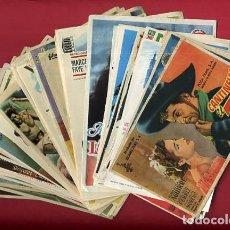Flyers Publicitaires de films Anciens: LOTE DE 120 PROGRAMAS DE CINE ANTIGUOS , SIN CINE EN EL REVERSO , VER FOTOS , ORIGINALES , L40. Lote 157033918