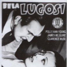 Cine: CINE FANTÁSTICO FOTOLITO PELÍCULA EL FANTASMA INVISIBLE, BELA LUGOSI SERIE B 1941. . Lote 157387338