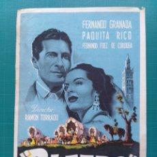 Foglietti di film di film antichi di cinema: PROGRAMA DE MANO CINE ORIGINAL - RUMBO. Lote 157674789