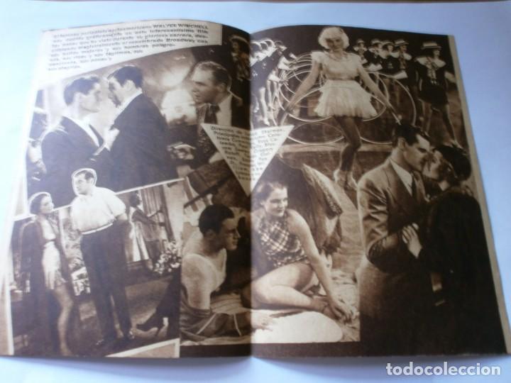 Cine: PROGRAMA DOBLE - BROADWAY POR DENTRO - CONSTANCE CUMMINGS, RUSS COLOMBO - SALÓN NACIONAL - 1939 - Foto 2 - 157805802