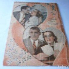 Cine: PROGRAMA DOBLE - CUANDO EL DIABLO ASOMA - JOAN CRAWFORD, CLARK GABLE - MGM - CENTRAL CINEMA - 1935.. Lote 157808354