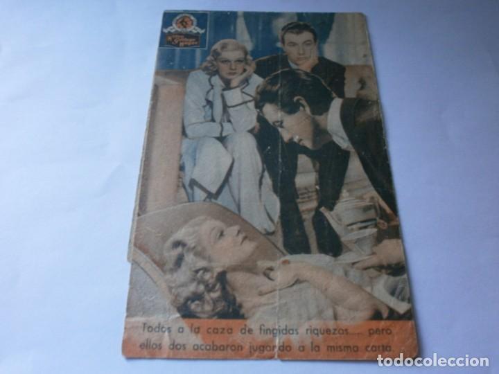 Cine: PROGRAMA DOBLE - JUGANDO A LA MISMA CARTA - ROBERT TAYLOR, JEAN HARLOW - MGM - IDEAL CINEMA - 1940. - Foto 3 - 157905390