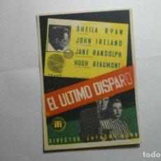 Cine: PROGRAMA EL ULTIMO DISPARO - JOHN IRELAND. Lote 158175894