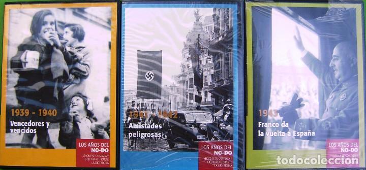 LOTE 3 DVD - LOS AÑOS DEL NODO 1939-1943 (Cine - Folletos de Mano - Documentales)