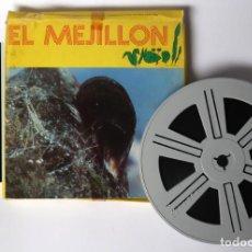 Cine: PELICULA CINE SUPER 8 SONORA, EL MEJILLÓN, ES DE 120 METROS, LA CAJA ÉS DE CARTÓN. Lote 158383870