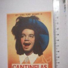 Cine: PROGRAMA CANTINFLAS LOS TRES MOSQUETEROS PUBLICIDAD LIDO 2 AL 8 ABRIL 1945 (5P). Lote 158468762