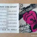 Cine: ANTIGUO PROGRAMA DE CINE DOBLE - LA ESCUADRILLA DESHECHA - RICHARD DIX - RADIO PICTURES - AÑO 1933. Lote 158504718