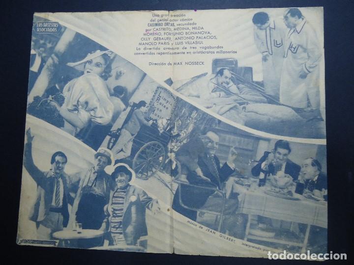 Cine: PODEROSO CABALLERO 1939 CASIMIRO ORTAS DIRECTOR MAX NOSSECK IBERICA FILMS BIEN CONSERVADO - Foto 2 - 158555758