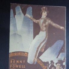 Cine: LA MELODIA DE BROADWAY 1936. MGM. ROBERT TAYLOR, ELEANOR POWELL -AÑOS 30 MGM DOBLE PUBLICIDAD SABOY. Lote 158585806
