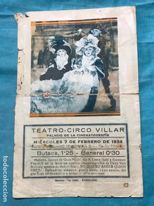 Cine: EL COLLAR DE LA REINA PROGRAMA DOBLE CON PUBLICIDAD - Foto 3 - 158846414