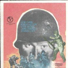 Cine: PROGRAMA DE CINE - CASCO DE ACERO - GENE EVANS, ROBERT HUTTON - 1951 - SIN PUBLICIDAD.. Lote 158889786