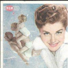 Foglietti di film di film antichi di cinema: PROGRAMA DE CINE - FALDAS A BORDO - ESTHER WILLIAMS - MGM - 1952 - SIN PUBLICIDAD.. Lote 158898850